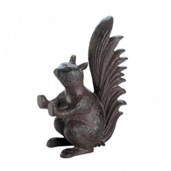 Cast Iron Squirrel Door Stopper