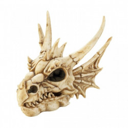 Dragon Skull Trinket Box Figurine
