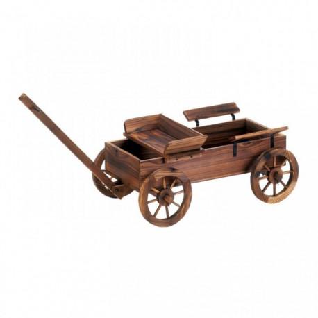 Rustic Wagon Garden Planter