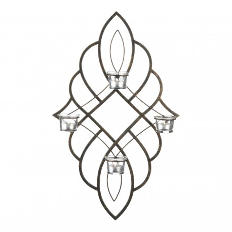 Regal Tealight Candle Wall Sconce
