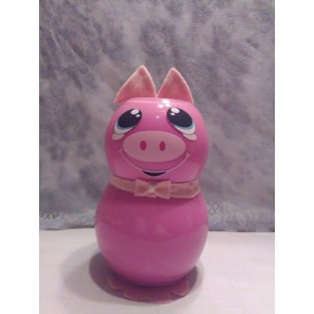 Handmade Glass Pig