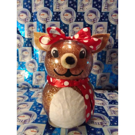 Handmade Glass Christmas Clarice