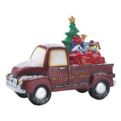Light-Up Christmas Toy Delivery Truck