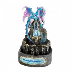 Ice Age Dragon Tabletop Electric Water Fountain