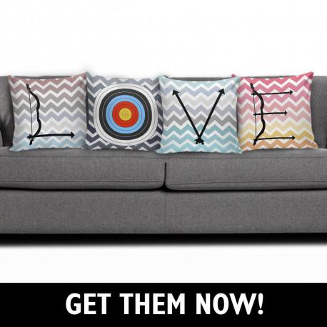 Love Archery  Pillow Case