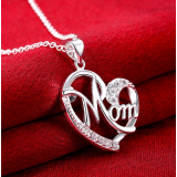 Mom Heart Pendant