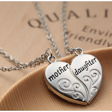 Mother and Daughter Necklace