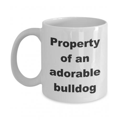 Property of an Adorable Bulldog Mug