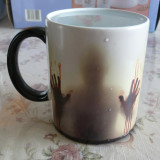 The Walking Dead Color Changing Ceramic Mug