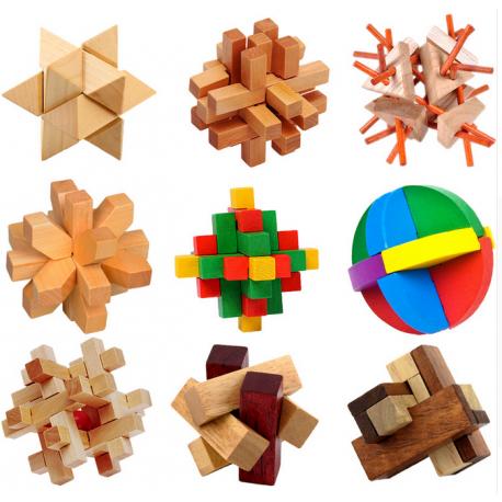 Unique 3D Wooden Puzzles