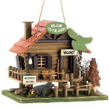 Welcome To The Cabin Bird House