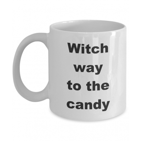 Witch Way To The Candy Mug