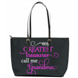 My Greatest Treasures Leather Tote Bag (Large)
