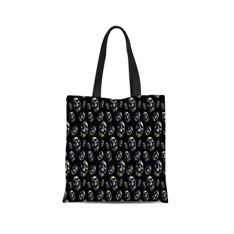 Skull Painting Canvas Tote Bag