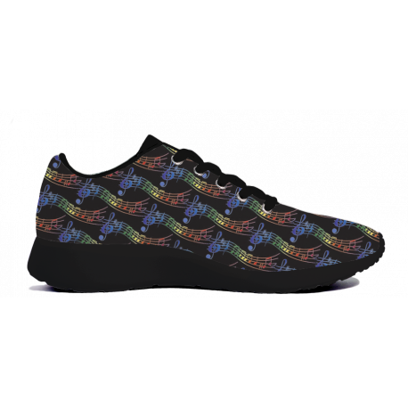 Music Pattern - Mens Sneakers