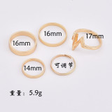 Women's ring 5 piece set