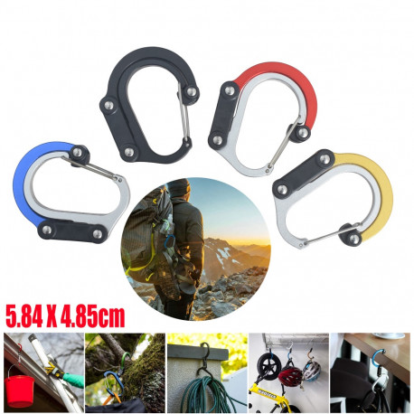Carabiner Rotating Hook Clip
