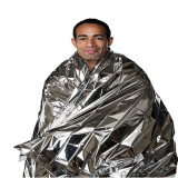 Water Proof Emergency Survival Rescue Blanket Foil Thermal Space First Aid Sliver Rescue Curtain Military Blanket