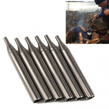 Outdoor Pocket Collapsible Fire Tool Kit Camping Survival
