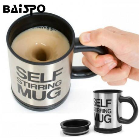 400 mL Mug Automatic Electric Lazy Self Stirring Mug