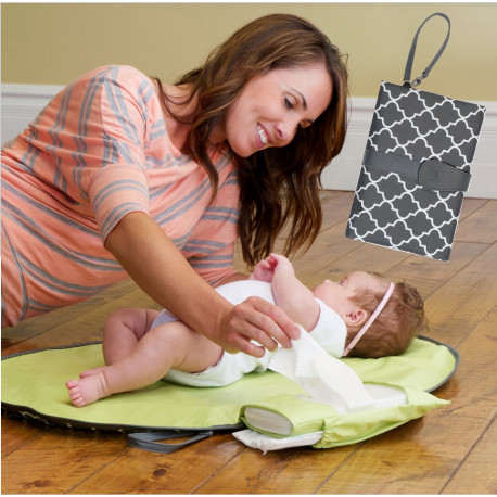 Waterproof baby changing mat sheet portable diaper changing pad