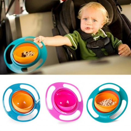 Spill-Proof Baby Feeding Bowl