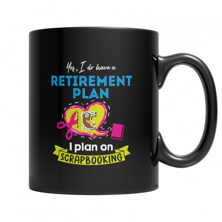 Scrapbooking Retirement Plan