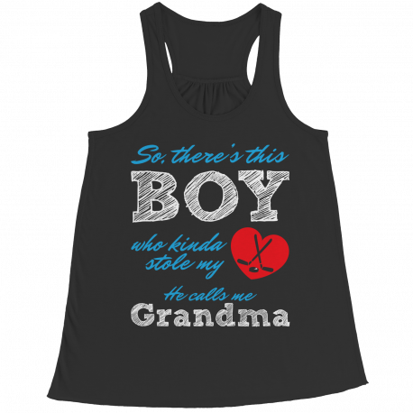 Limited Edition - So, There's this Boy who kinda stole my heart. He calls me Grandma (hockey)