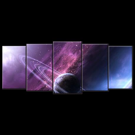 Cosmic Sky - 5 panels