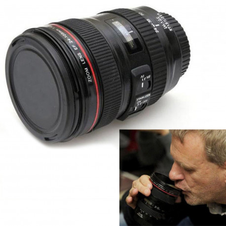 Camera Lens Thermo Coffee Mug
