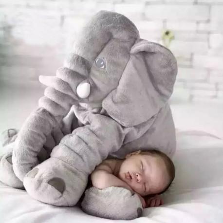 Large Plush Elephant Doll Toy Kids Sleeping Back Cushion Cute Stuffed Elephant