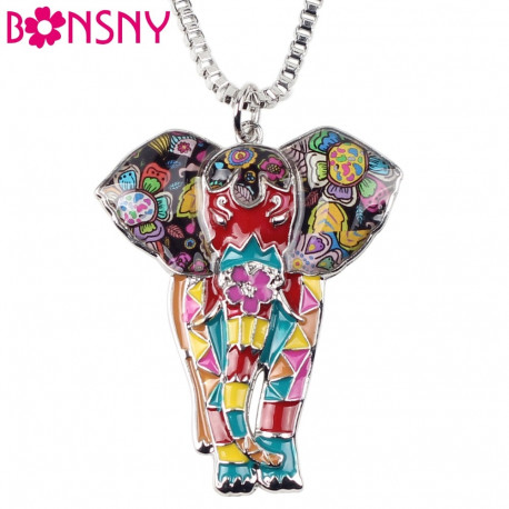 Elephant Necklace Pendant