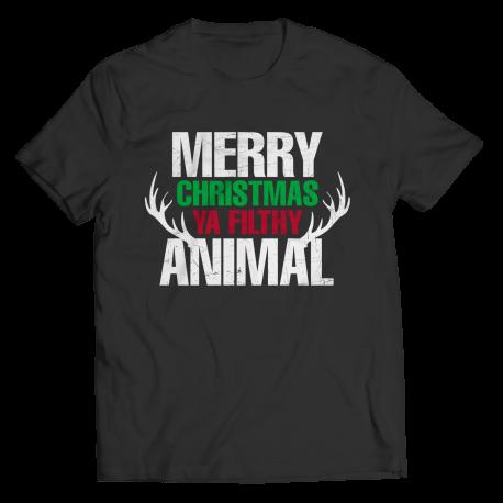 Marry Christmas Ya Filthy Animals