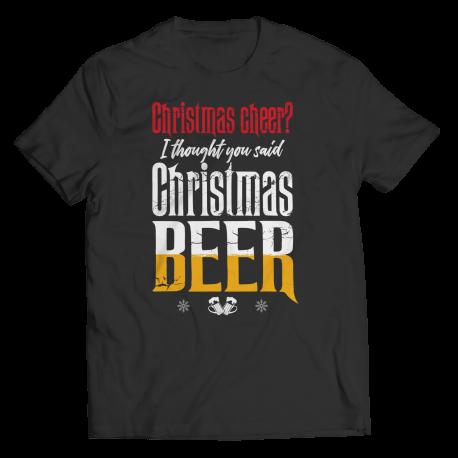 I Thought You Said Christmas Beer