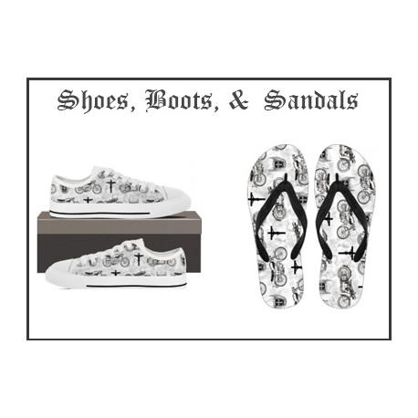 Shoes, Socks, & Footwear