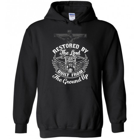 Restored by the Lord Built from the Ground Up! Hoodie