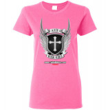 (SALE!) FaithBikers.com Shield and Wings Logo Women's T-Shirt