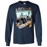 I Ride Because He Died! Original Faith Bikers Artwork Women's Long Sleeve T-Shirt