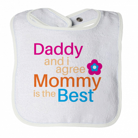 Funny Bib Birthday Gift For 1 Year Old Baby Kid Infant From Mom Dad