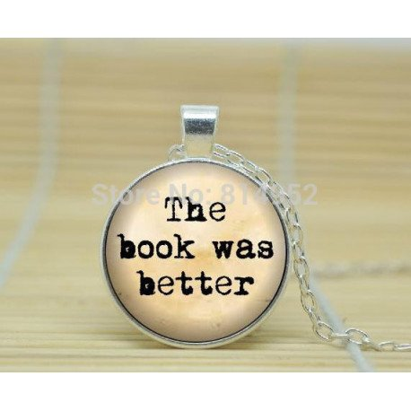 Harry Potter Book Movie Pendant Necklace