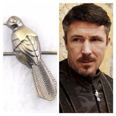 A Song of Ice and Fire Brooches Pins Game of Thrones Little Finger Petyr Baelish Earl Bionic Bird