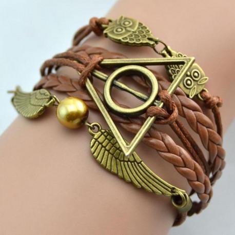 Harry Potter Deathly Hallows bracelet