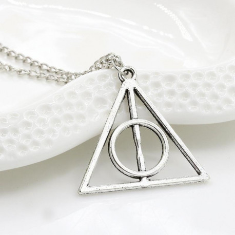 Harry Potter Deathly Hallows Pendant Necklace