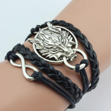 Harry Potter Power Dragon Black Woven Charm Bracelet