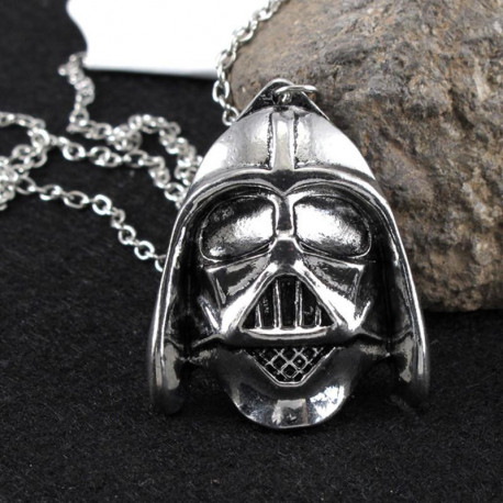 Star Wars Darth Vader Silver Pendant Necklace