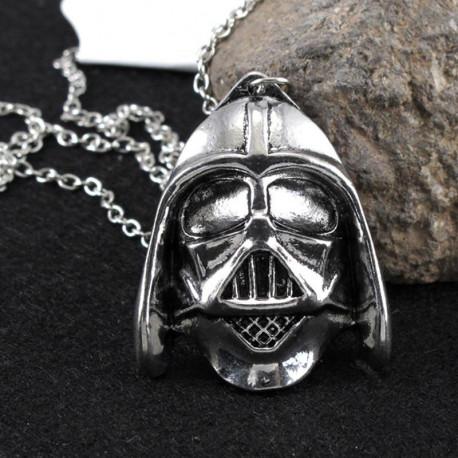 Star Wars Darth Vader Silver Pendant Necklace