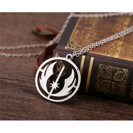 Star Wars Force Awakens Mens Womens Silver Pendant Necklace
