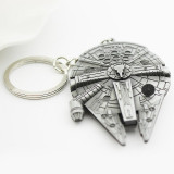 Star Wars Han Solo Millennium Falcon Metal House/Car Keyring