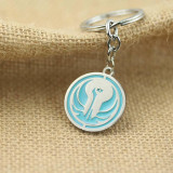 Star Wars Jedi Rebels Symbol Blue House/Car Keychain