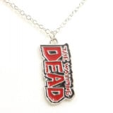 The Walking Dead Red Logo Pendant Necklace